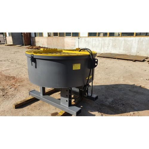 800 l Betonmischer Mischer Zwangsmischer Getreide mit hydraulischem Antrieb