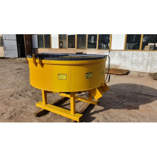 1000 Liter Betonmischer Mischer Beton Getreide mit elektrischem Antrieb