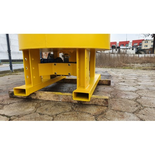 1200 Liter Betonmischer Mischer Beton Getreide mit elektrischem Antrieb