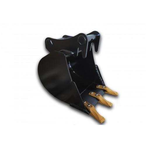 40 cm Tieflöffel für Minibagger bis zu 1 Tonne