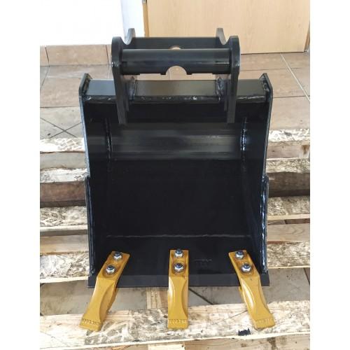 40 cm Tieflöffel für Minibagger 1,1 – 1,8 Tonnen