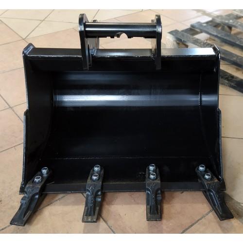 50 cm Tieflöffel für Minibagger 1,1 – 1,8 Tonnen