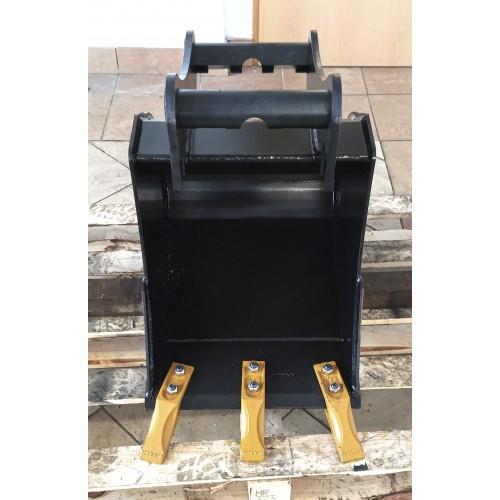 40 cm Tieflöffel für Minibagger 2,6 – 3,5 Tonnen