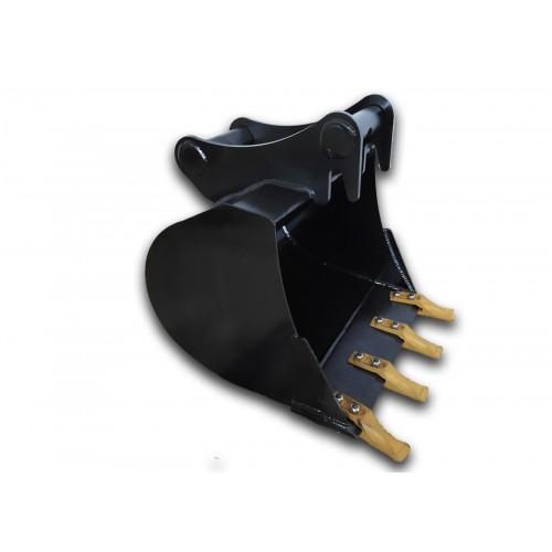 50 cm Tieflöffel für Minibagger 2,6 – 3,5 Tonnen