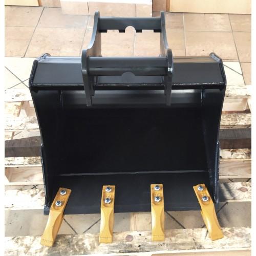 60 cm Tieflöffel für Minibagger 2,6 – 3,5 Tonnen