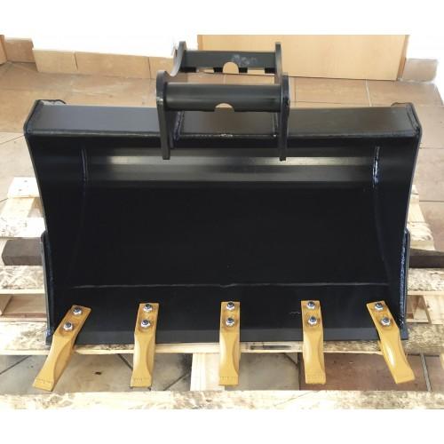 80 cm Tieflöffel für Minibagger 2,6 – 3,5 Tonnen
