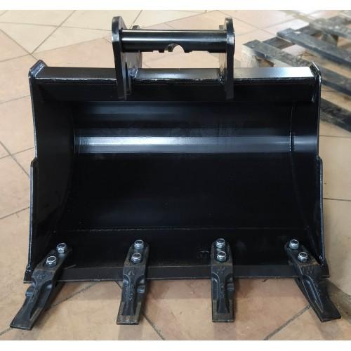 50 cm Tieflöffel für Minibagger 3,6 – 5,5 Tonnen