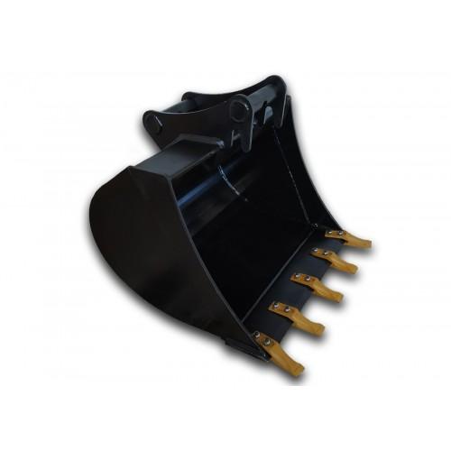 70 cm Tieflöffel für Minibagger 3,6 – 5,5 Tonnen