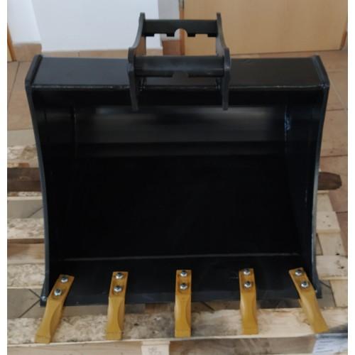 80 cm Tieflöffel für Minibagger 3,6 – 5,5 Tonnen