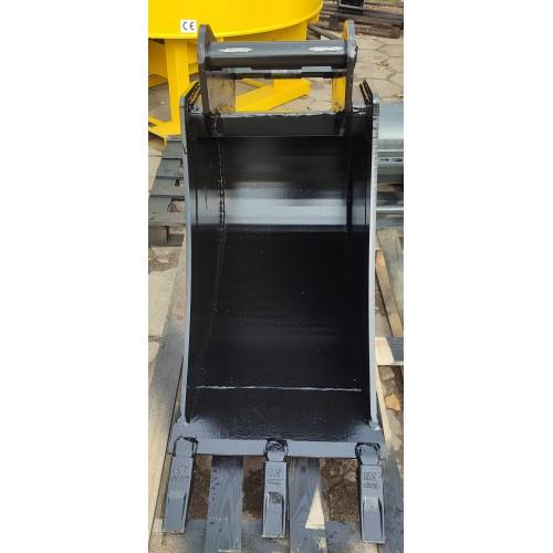 50 cm Tieflöffel für Minibagger 5,6 – 9 Tonnen