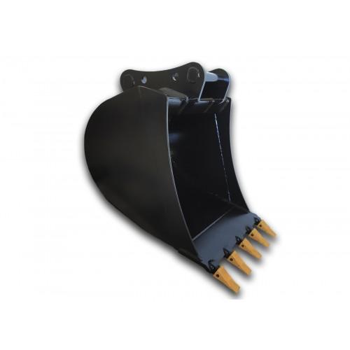 90 cm Tieflöffel für Minibagger 5,6 – 9 Tonnen
